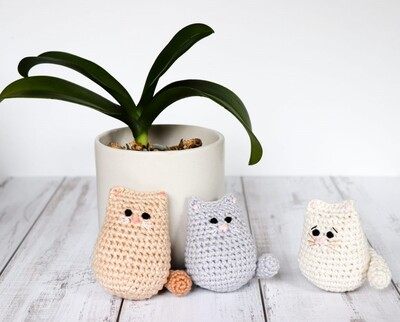 Free Crochet Cat Patterns from Thoresby Cottage