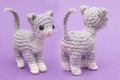 Free Crochet Cat Patterns from Stella's Yarn Universe