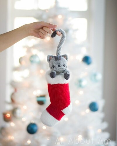 Free Crochet Cat Patterns from All About Ami