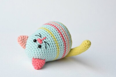 Free Crochet Cat Patterns from Lille Liis