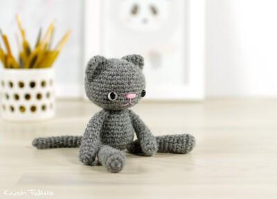 Free Crochet Cat Patterns from Kristi Tullus