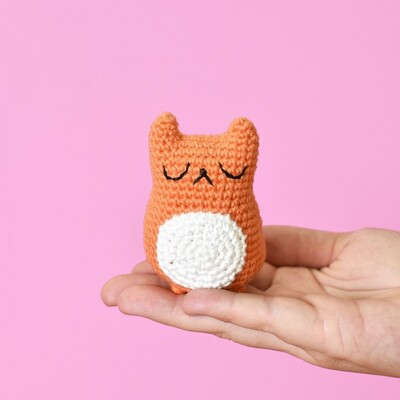 Free Crochet Cat Patterns from Tiny Curl