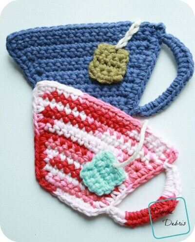 Free Crochet Coaster Patterns from Divine Debris