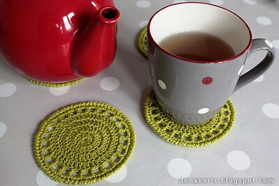 ree Crochet Coaster Patterns from Ravelry
