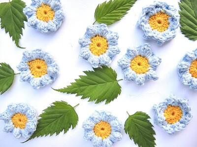 Free Crochet Flower Patterns from Moois Van M(i)e