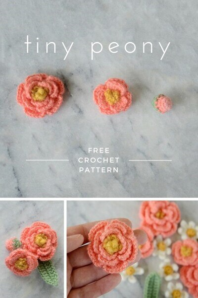 Free Crochet Flower Patterns from Picot Pals
