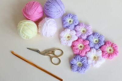 Free Crochet Flower Patterns from Bella Coco Crochet