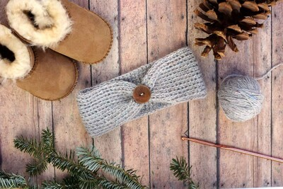 Free Crochet Headband Patterns from Make & Do Crew