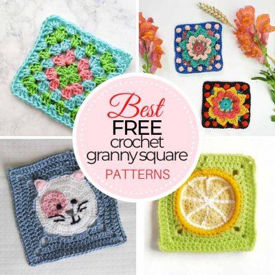 Free Crochet Granny Square Patterns
