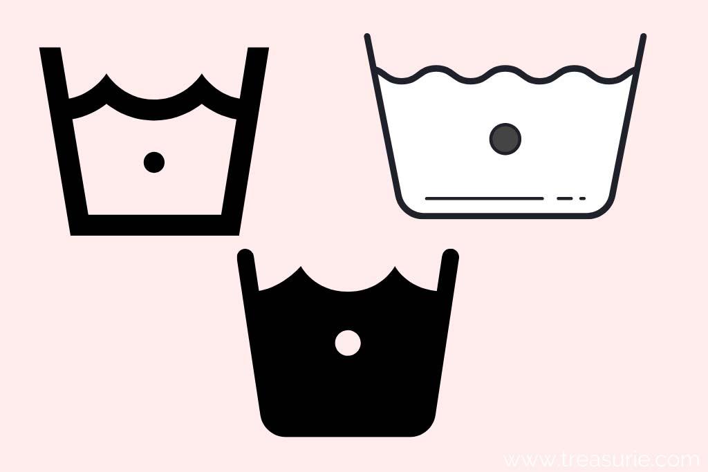 Cold Washing Symbols