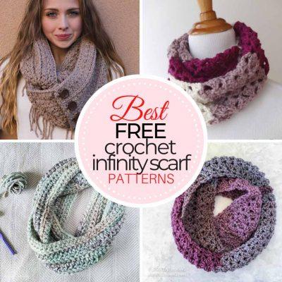 Free Crochet Infinity Scarf Patterns