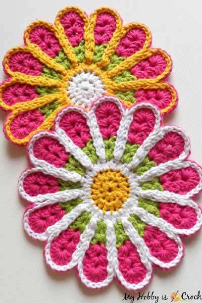 Free Crochet Coaster Patterns from My Hobby Is Crochet
