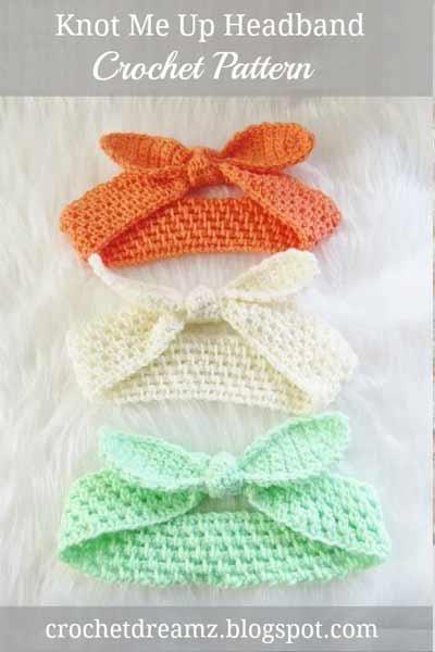 Free Crochet Headband Patterns from Crochet Dreamz