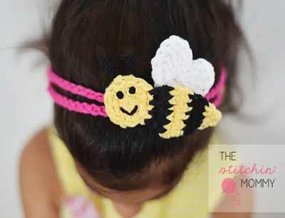 Free Crochet Headband Patterns from The Stitchin' Mommy