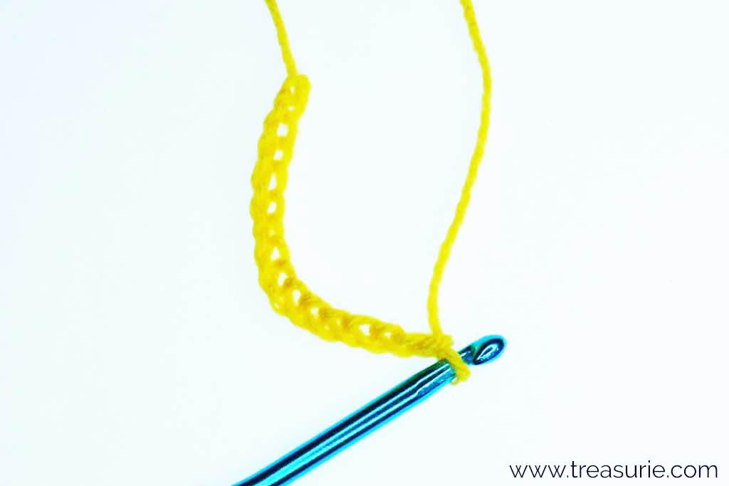 Treble Crochet Stitch - Foundation Chain