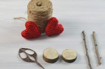 free crochet heart patterns