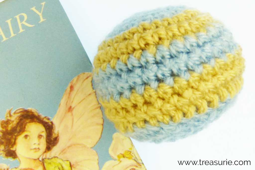 Crochet Magic Ring Used to Make a Ball