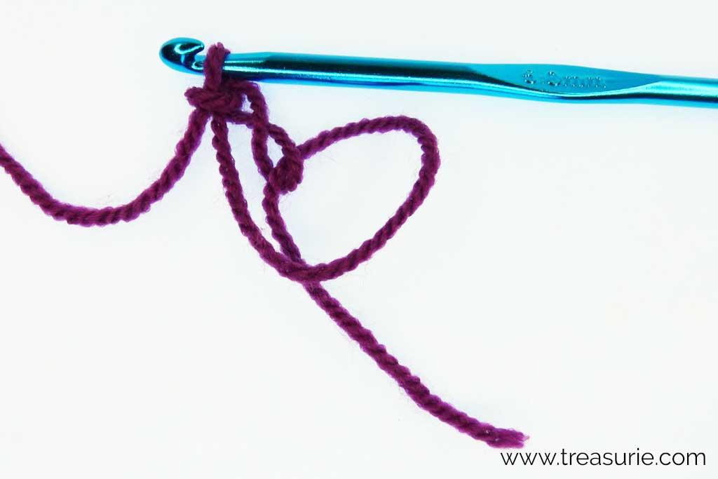 Crochet Magic Ring - Chain