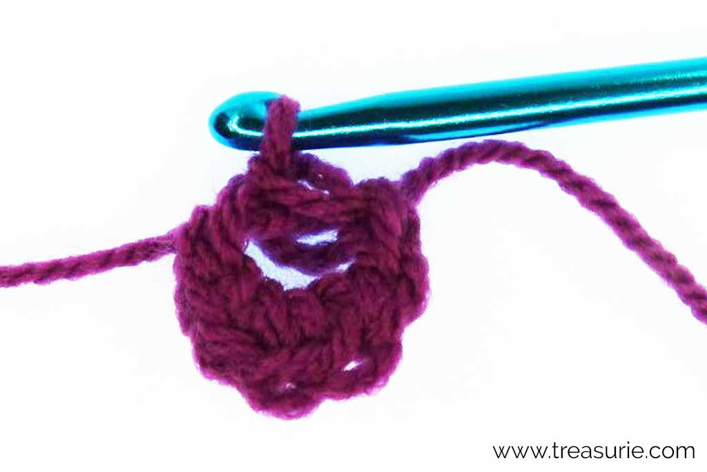 Crochet Magic Ring - Slip Stitch