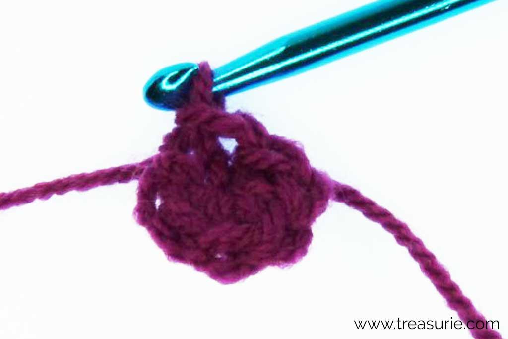 Crochet Magic Ring - Pull