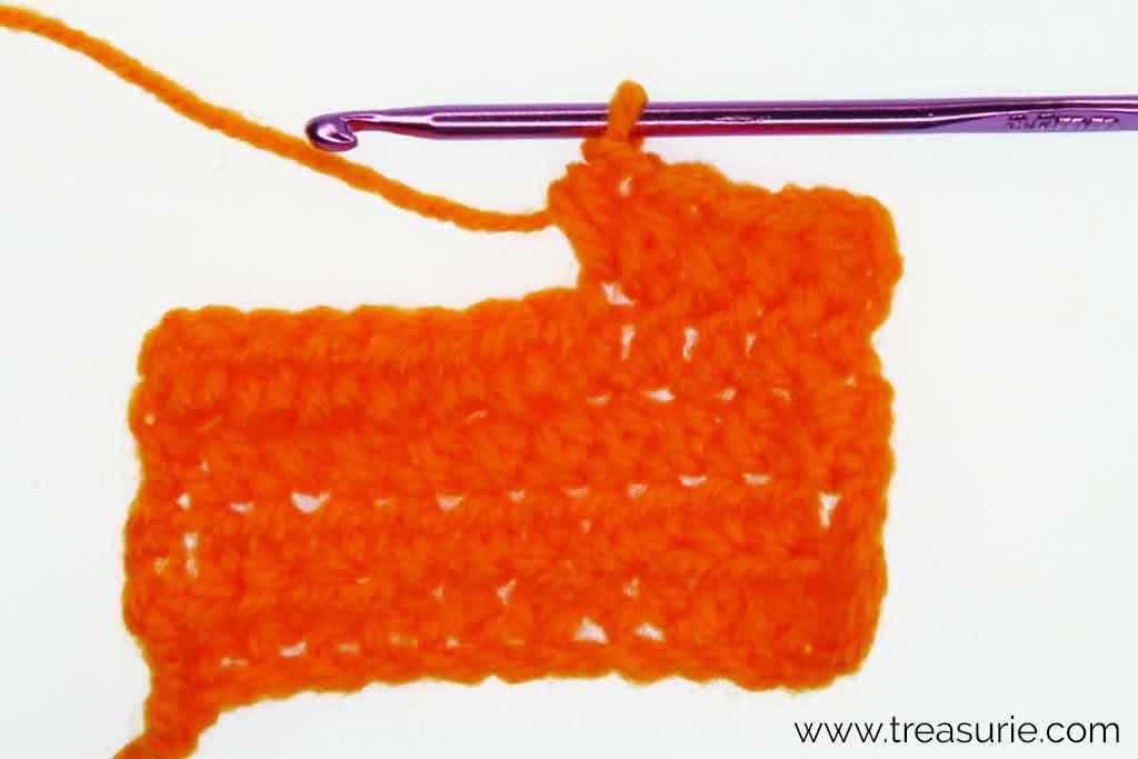 Increasing in Half Double Crochet