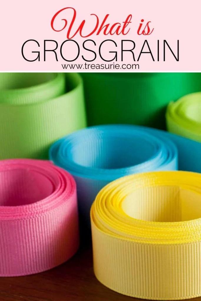What is Grosgrain