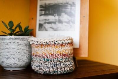 Free Knitted Basket Patterns