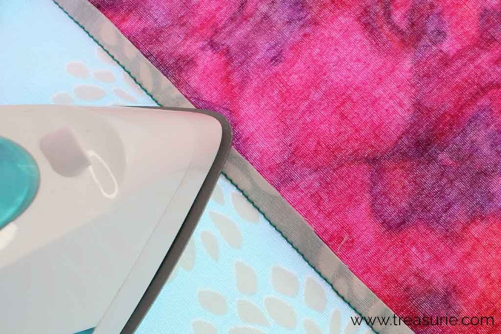 Pressing Quilt Seams To the Side