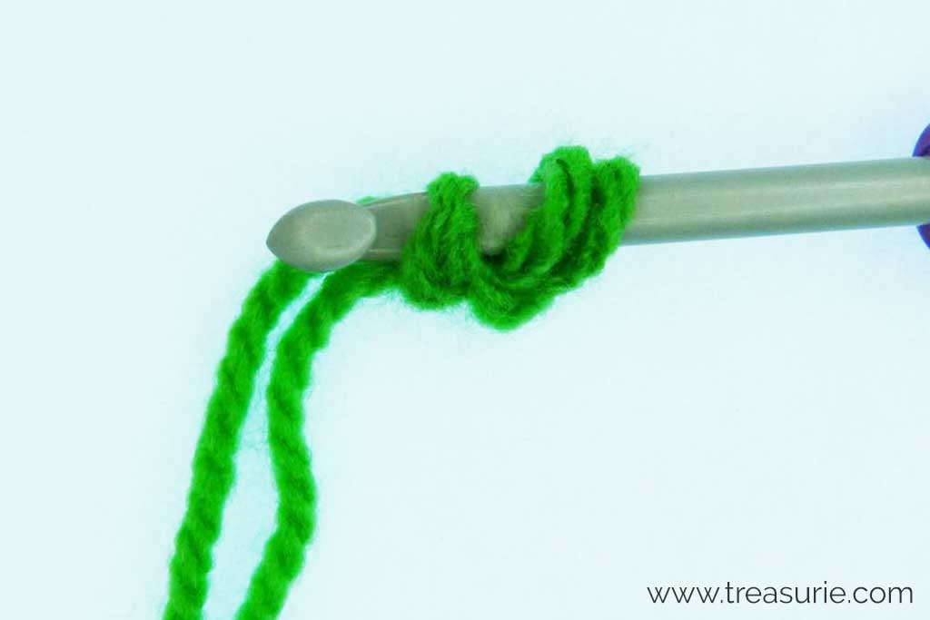 Crochet Circles - Into a Single Chain