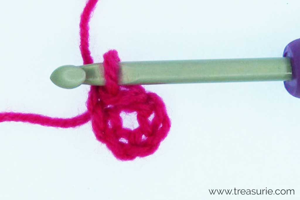 Crochet Circles - Foundation Ring