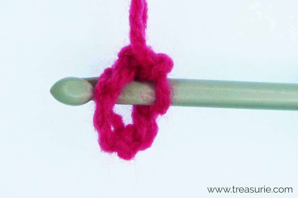 Crochet Circles - First Row