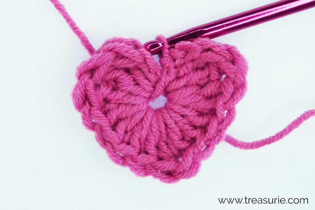 Crochet Hearts - First Round