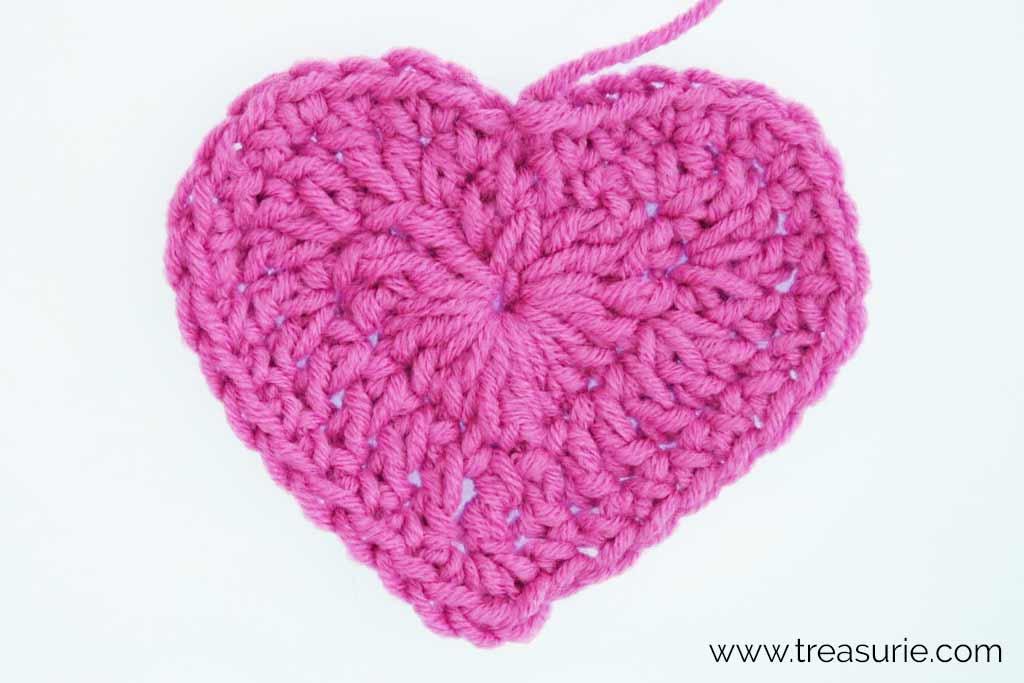 Crochet Hearts - Third Round