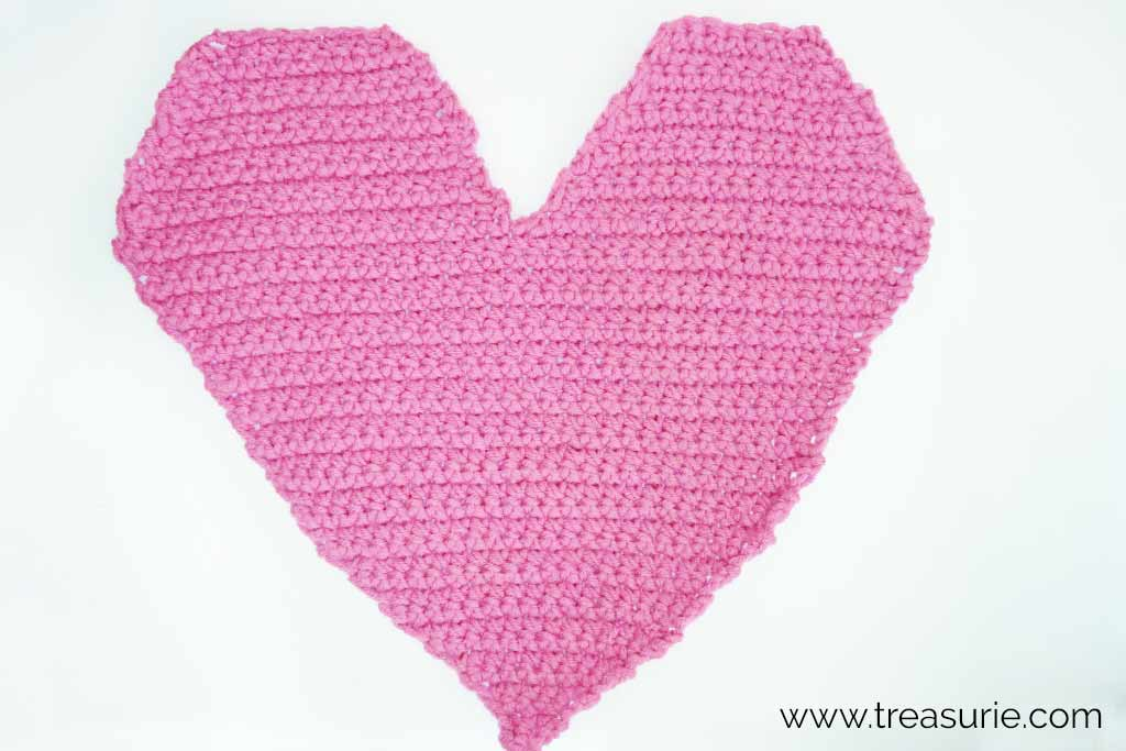 Crochet Hearts - Back and Forth