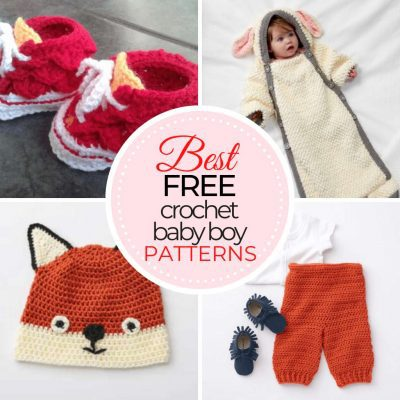 Free Crochet Baby Boy Patterns