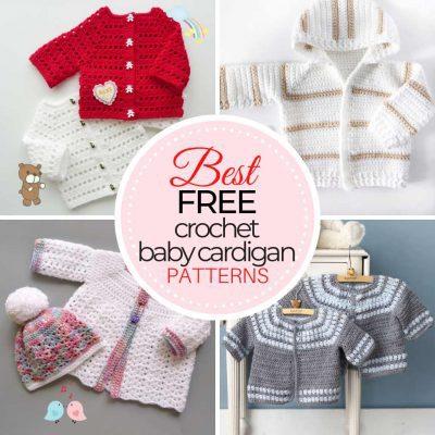 Free Crochet Baby Cardigan Patterns