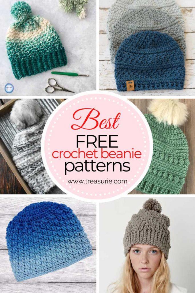 Free Crochet Beanie Patterns