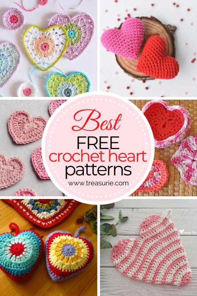 Free Crochet Hearts Patterns