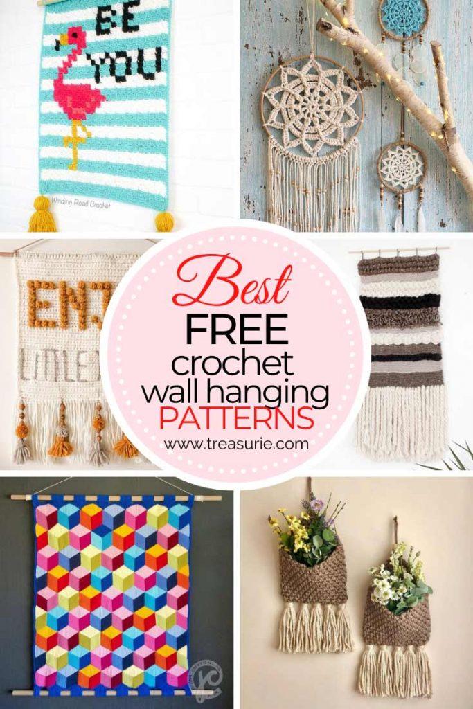 Free Crochet Wall Hanging Patterns