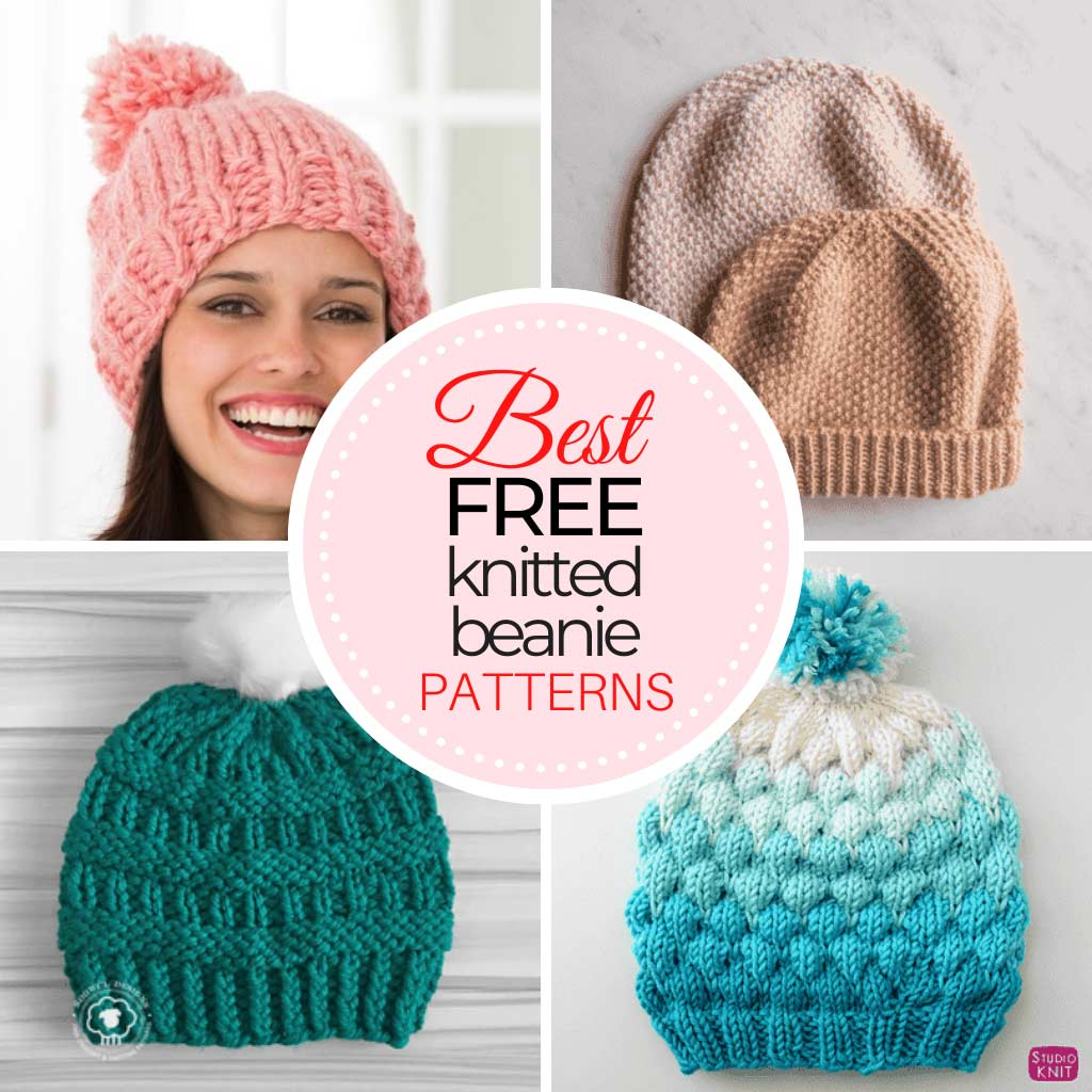 Free Knitted Beanie Patterns