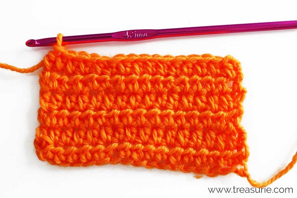 Basic Crochet Stitches - Half Double Stitch