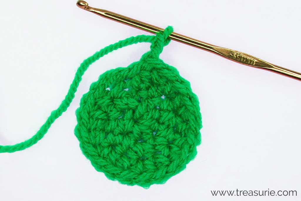 How to Half Double Crochet in the Round