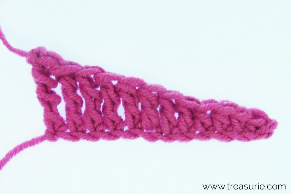 Half Treble Crochet Decreasing
