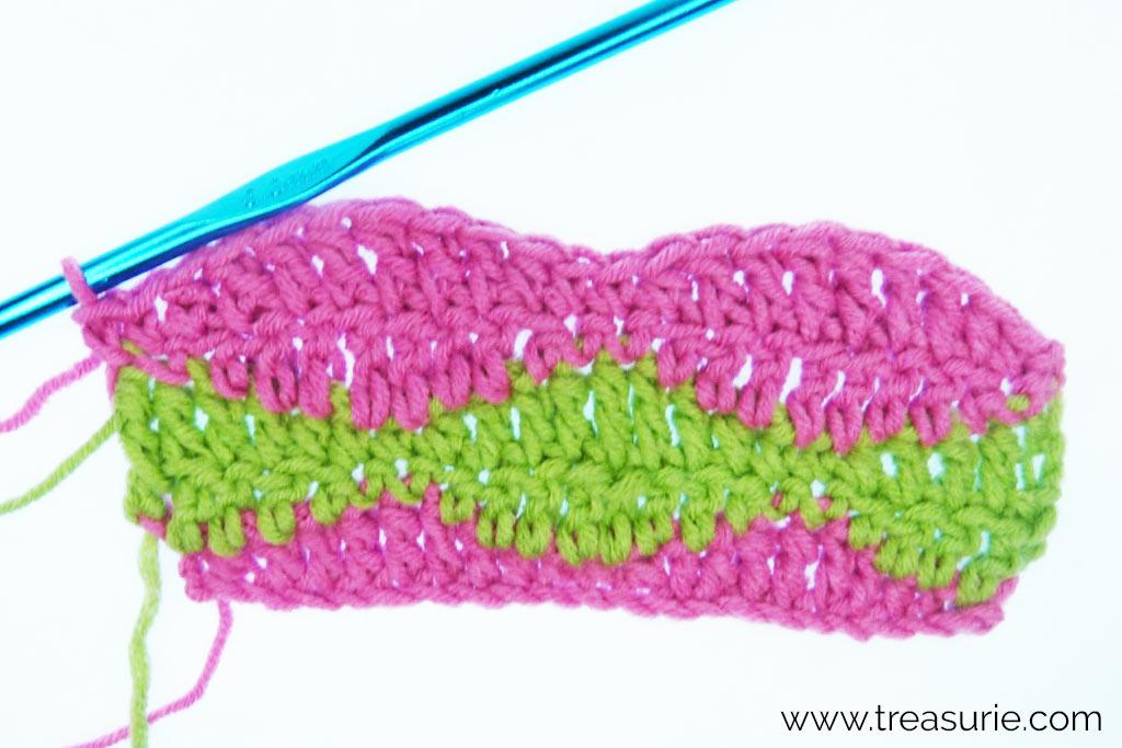 Half Treble Crochet Variation - Wave Stitch