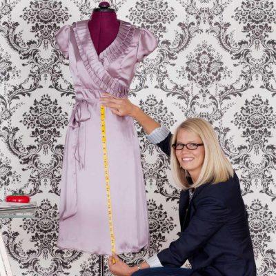 Hemming a Dress