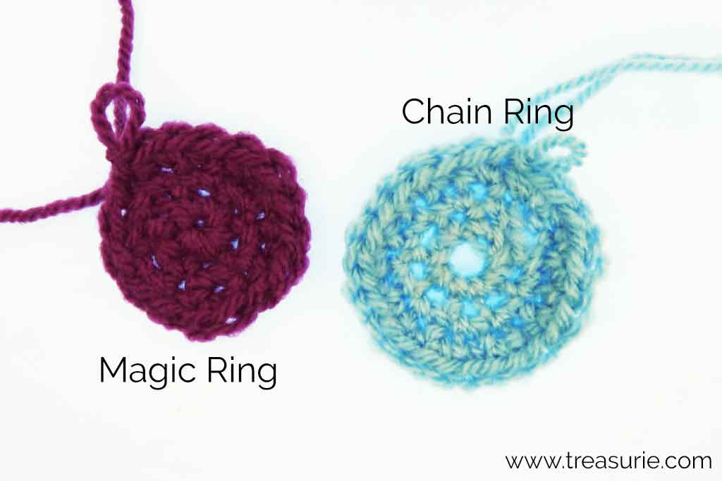 Round Crochet with Magic Ring