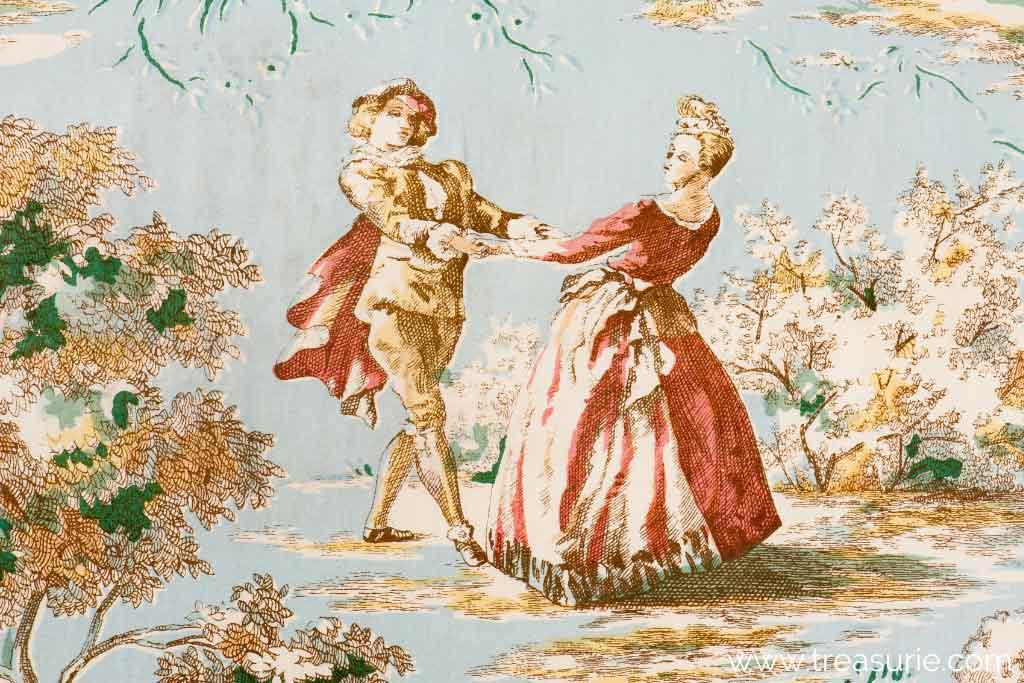 Antique Toile Fabric