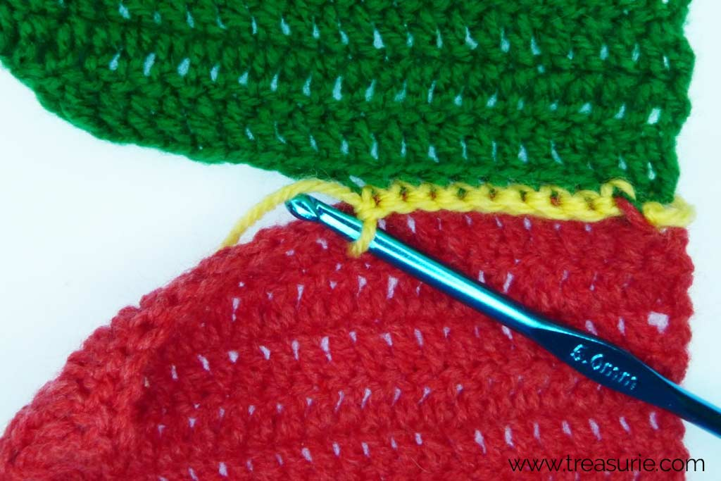 How to Finish Off Crochet - Joining with sc