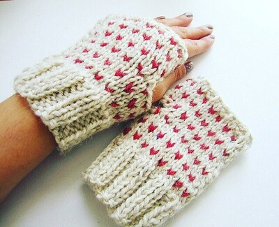 Knitted Heart Patterns