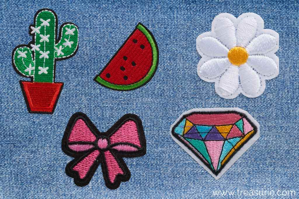 How to Fix a Hole in Jeans with Embroidered Patches